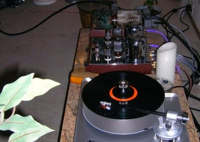 Clearaudio Avantgarde Magnum Turntable with Benz SL Wood
