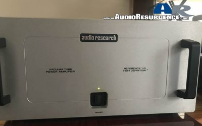 Audio Research Reference 110 / KT 150 Review