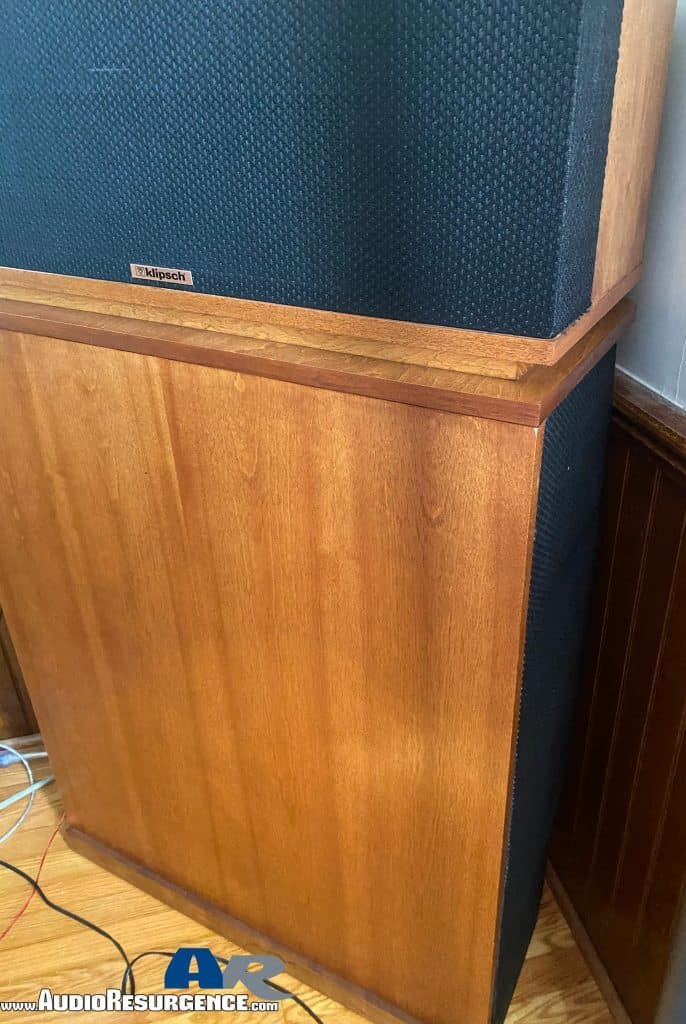 Klipschorns speaker reviews
